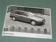 "VAUXHALL ASTRA LS ESTATE (K Reg)   factory issued 8x6"" press photo"